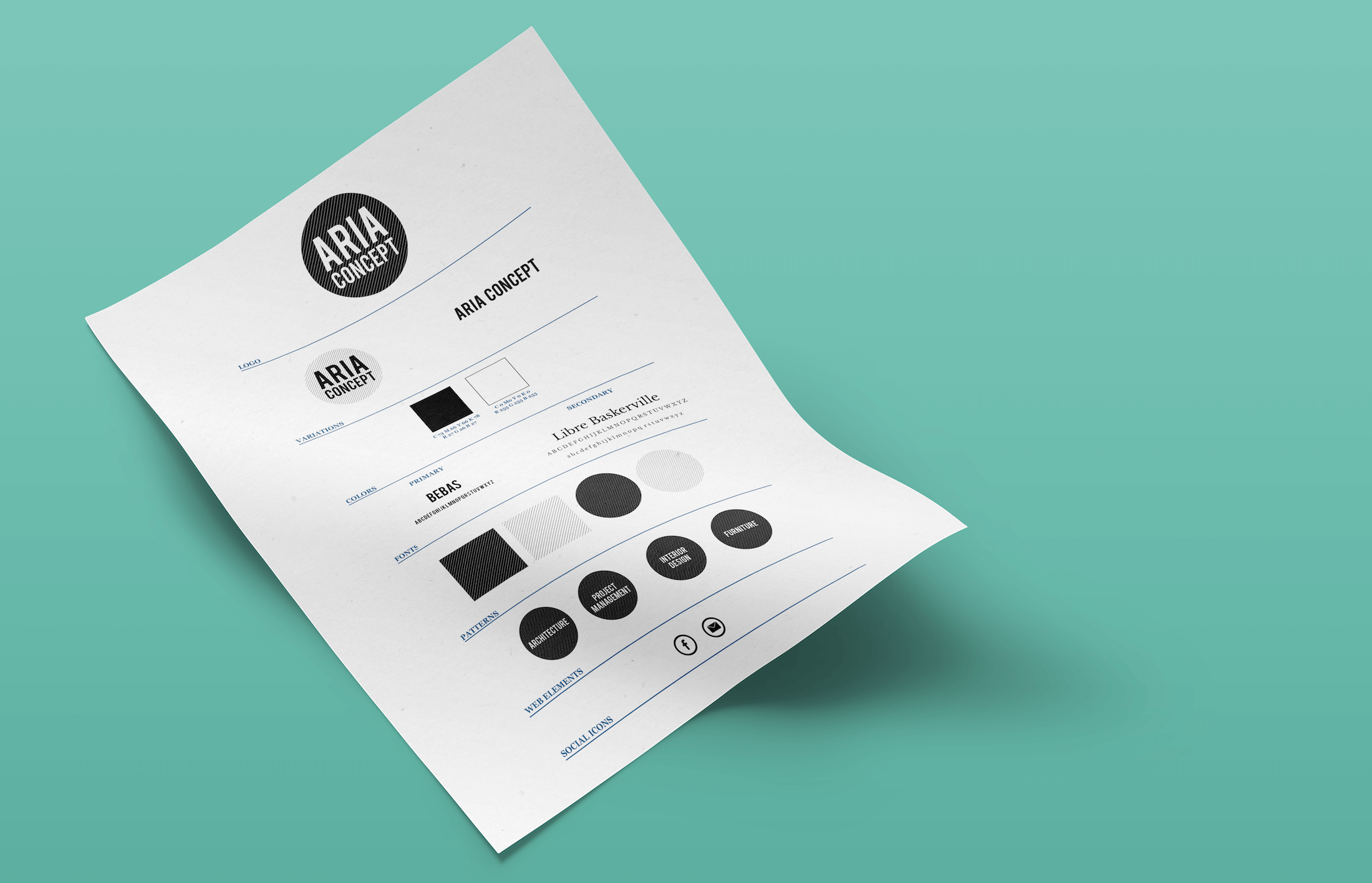 Aria Concept Branding Style Guide