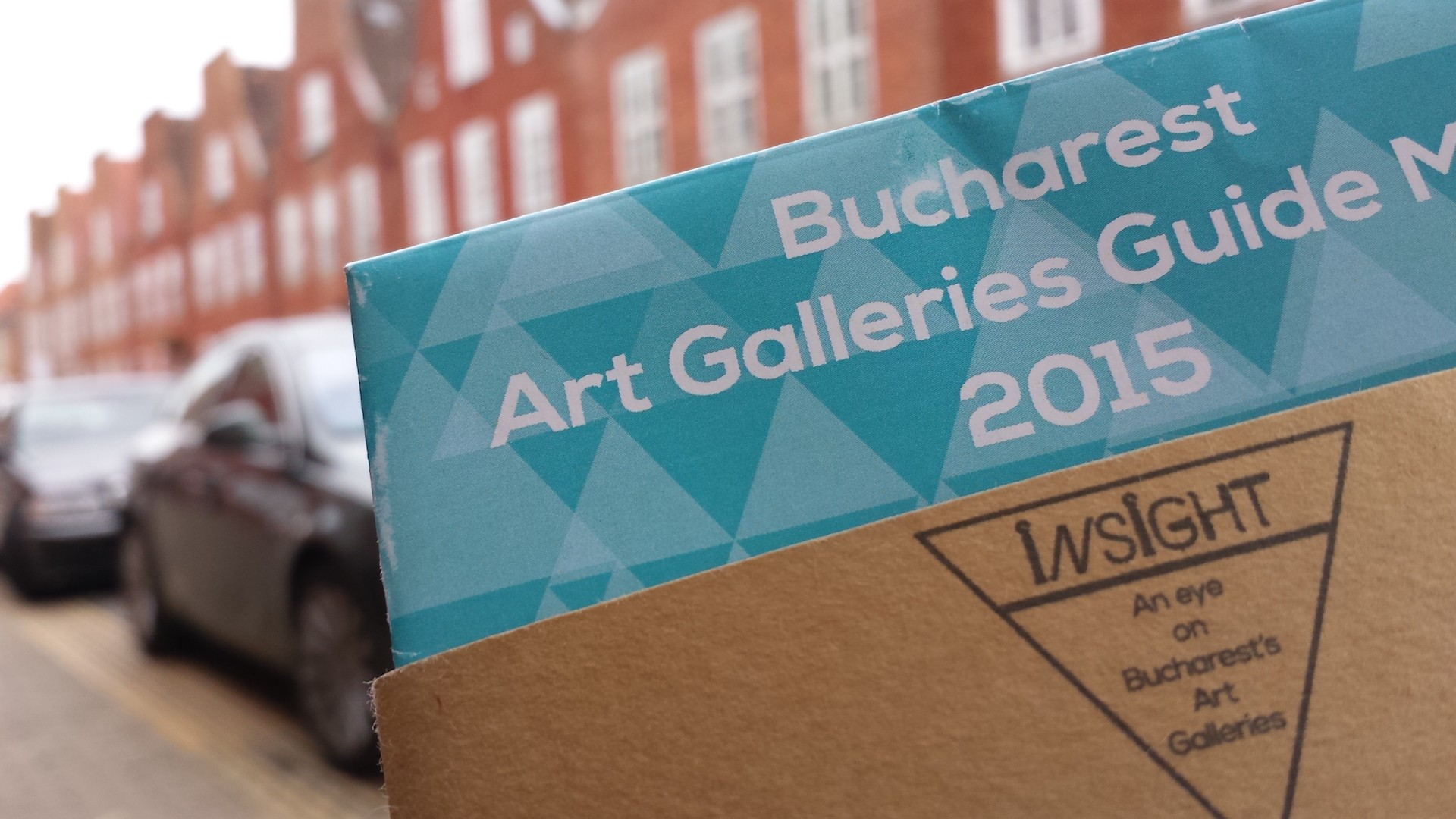 Insight Art Galleries Guide Map 2015