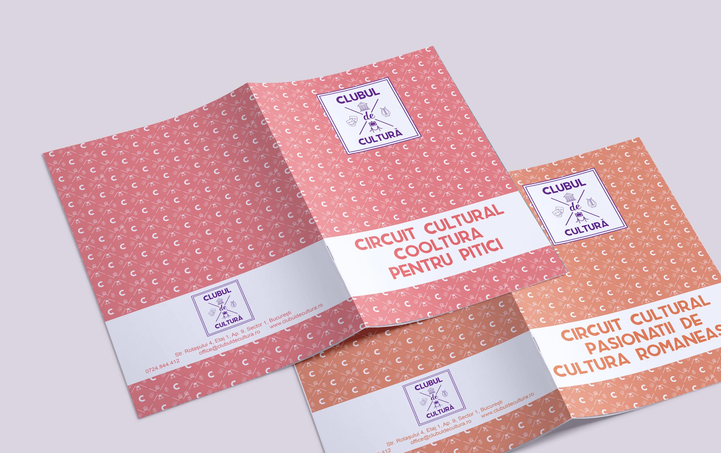 Clubul de cultura folder close up