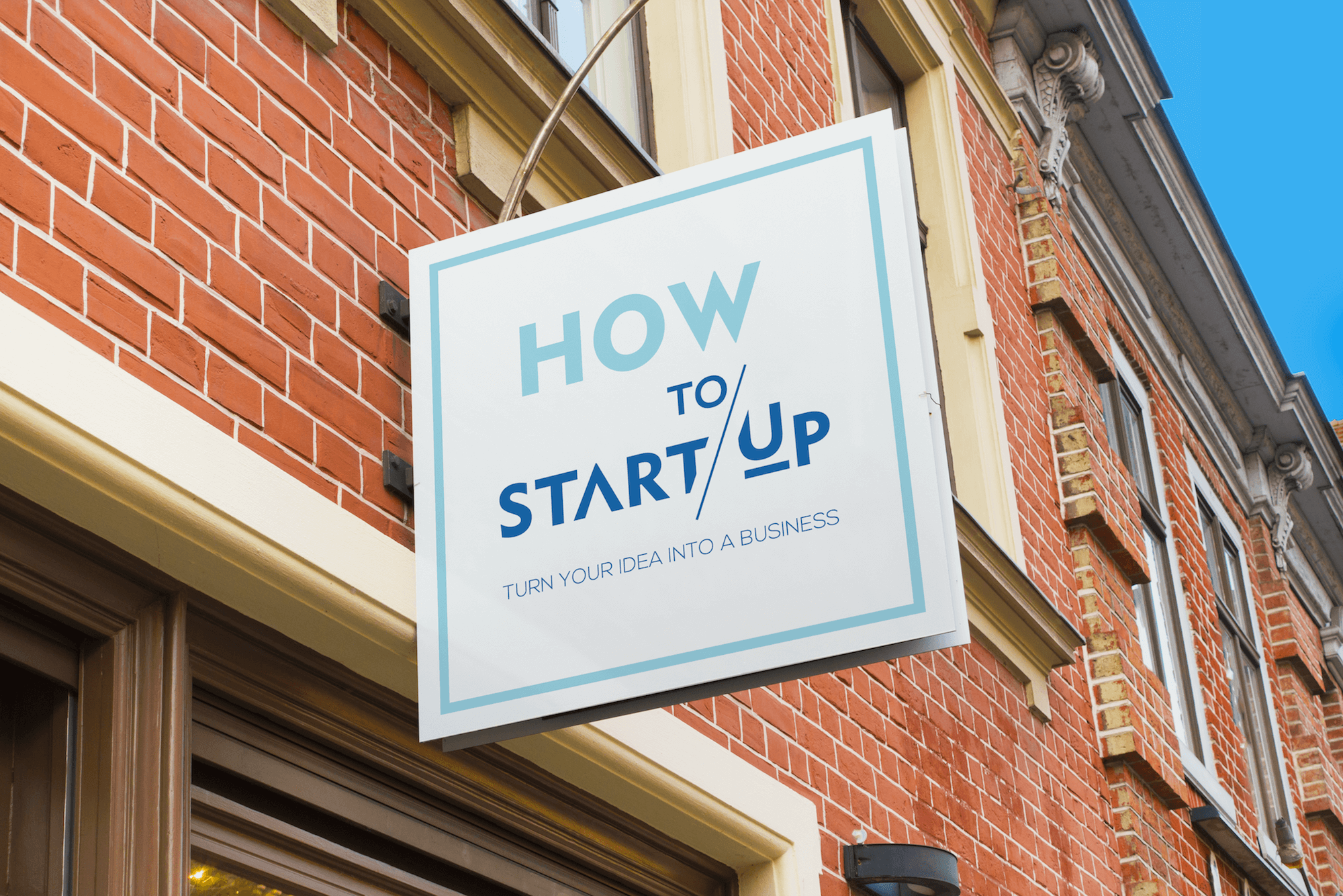 How to Start Up Sign